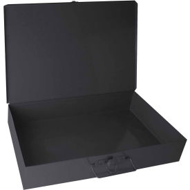Durham Steel Scoop Compartment Box 123-95 - No Dividable Compartments 18 x 12 x 3 - Pkg Qty 4