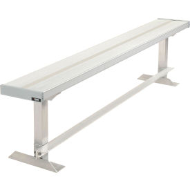 Aluminum Team Bench - 6'L