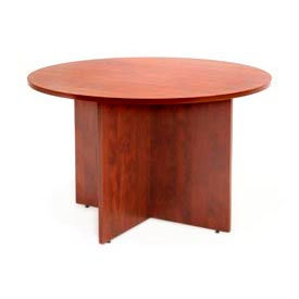 """Regency Conference Table - Round 42"""" - Cherry - Legacy Series"""
