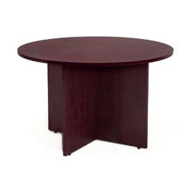 """Regency Conference Table - Round 42"""" - Mahogany - Legacy Series"""
