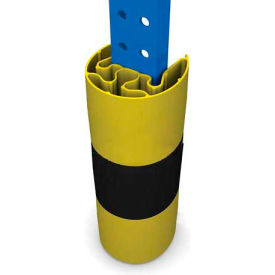 "Protect-It Rack Guard 3"" X 1-5/8"" Yellow - Pkg Qty 3"