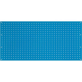 "36""W x 19""H Pegboard Panel - Blue"