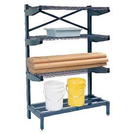 "Cantilever Rack Shelving 72"" W x 24"" D x 72"" H, 600 Lbs Capacity"