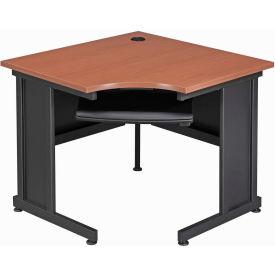 "36"" Corner Desk Cherry"