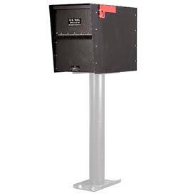 Jayco LL6RRMAXSTD Standard Rear Access Heavy Duty Letter Locker Mailbox Bronze