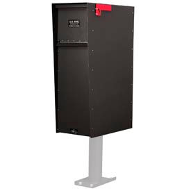 Jayco LLA5RSUP Supreme Rear Access Aluminum Letter Locker Mailbox Bronze