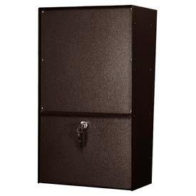 Jayco LLVRW Wall Mount Vertical Rear Access Letter Locker Mailbox Bronze