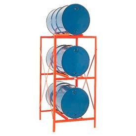 Modern Equipment MECO DR3 Drum Storage Rack - 3 Drum Storage