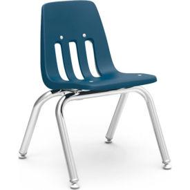 Virco® 9012 Classic Series™ Classroom Chair - Navy Vented Back - Pkg Qty 4