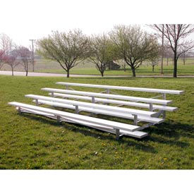 Aluminum Bleachers 4 row 27' W