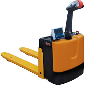 Self Propelled Electric Scale Pallet Truck, Scale Pallet Jack 3000 Lb. Cap.