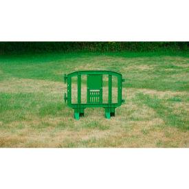 MINIT™ Plastic Barricade, Interlocking, Green