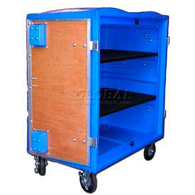Optional Wood Shelf for Myton 34 Cu. Ft. Plastic Security Transfer Truck (2 Max)