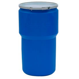 Eagle 1610MB Plastic Lab Pack Drum with Metal Lever Lock - 14 Gallon
