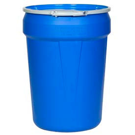 Eagle 1601MB Plastic Lab Pack Drum with Metal Lever Lock - 30 Gallon