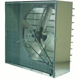 TPI 42 Cabinet Exhaust Fan With Shutters CBT 42B 3/4 HP 14800 CFM