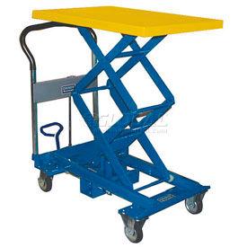 Southworth Dandy Lift A-350W Mobile Scissor Lift Table 770 Lb. Capacity