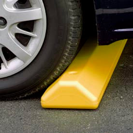 """Eagle Parking Curb with Hardware 72""""L x 4""""H x 8""""W Yellow, 1790Y"""