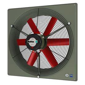 "Multifan Panel Fan 24"" Diameter V6E63K2M71100 Single Phase 120V With Grill"