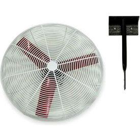 """Vostermans 24"""" Ceiling Mount Basket Fan 245783 1/3 HP 8000 CFM"""