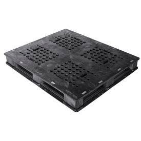 Buckhorn Heavy Duty Rackable Plastic Pallet PU4840063310006 -  48x40 5000 lb Capacity