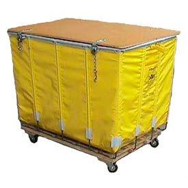 Dandux Yellow Glosstex Shipping Hamper Truck 4002002G10Y 10 Bushel Capacity