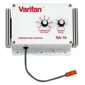 Vostermans Variable Speed Controller W/ Temperature Set Point VFSA-10 Automatic