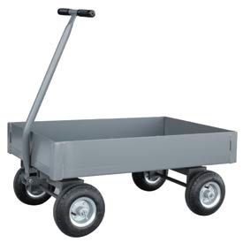 """Jamco Solid Steel Deck Wagon Truck UX248 48 x 24 with 6"""" Lip Deck"""