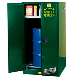 Justrite® Pesticide Drum Storage Cabinet - Manual