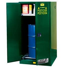 Justrite® Pesticide Drum Storage Cabinet - Self Close