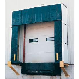 "Vestil Rigid Dock Door Shelter D-750-24 10'W x 10'H with 24"" Projection"