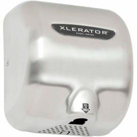 Xlerator® Hand Dryer  - Brush Stainless Steel Cover 120V
