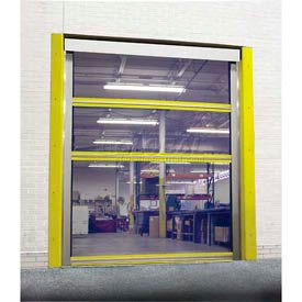 TMI Motorized Roll-Up Bug Screen Dock Door with 11 oz Mesh Panels 10 x 10