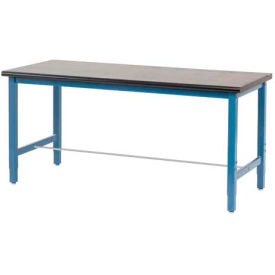72 x 30 Phenolic Safety Edge Production Bench-Blue