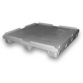 Plastic Pallet 51x51x8-1/2 1500 Lbs. Capacity
