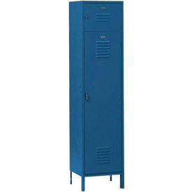 Penco 6439V806 Vanguard Box Over Locker 12x12x72 Ready To Assemble Marine Blue