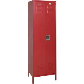 Penco 6MTJ09736 Vanguard Executive Locker 24x18x72 with Legs Assembled Burgundy