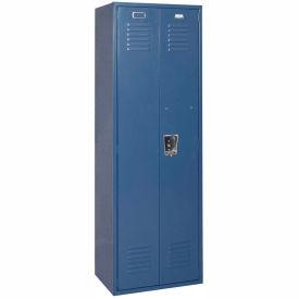 Penco 6MTJ170806 Vanguard Executive Locker 24x18x72 No Legs Assembled Marine Blue