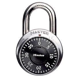 "Master Lock® No. 1502 Combination Padlock 3/4"" Shackle - Pkg Qty 5"