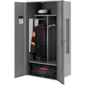 Penco 6KGDA00028 Patriot Gear Locker 24x24x72 Ready To Assemble Gray