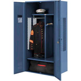 Penco 6KGDA10806 Patriot Gear Locker 30x24x72 Ready To Assemble Marine Blue