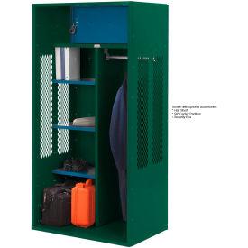 Penco 6KTDA00812 Patriot Turnout Locker 24x24x72 Ready To Assemble Hunter Green