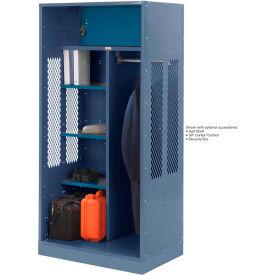 Penco 6WTDA20C806 Patriot Turnout Welded Locker 36x24x76 Marine Blue
