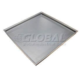 Rotationally Molded Plastic Tray 29-1/2 x29-1/2x2 Gray