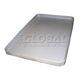Rotationally Molded Plastic Tray 37-1/2x25x 2-1/2 Gray