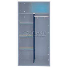 Penco 6CPX269C806 Patriot Locker Accessory Center Partition 15Dx58H Marine Blue