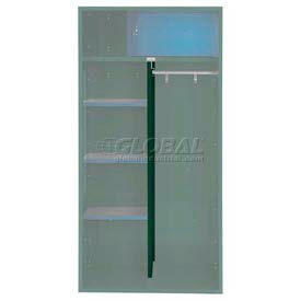 Penco 6CPX269C812 Center Partition For Patriot Locker, 15Dx58H Hunter Green