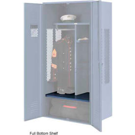 Penco 6SHX531C806 Full Bottom Shelf For Patriot Locker, 30Wx24D Marine Blue