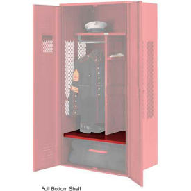 Penco 6SHX531C722 Patriot Locker Accessory Full Bottom Shelf 30Wx24D Patriot Red