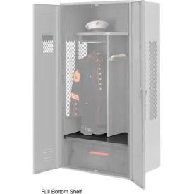 Penco 6SHX532C028 Full Bottom Shelf For Patriot Locker, 36Wx24D Gray